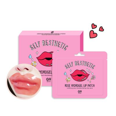 Патчи для губ Berrisom G9SKIN Rose Hydrogel Lip Patch 3гр