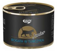 NATURAL TASTE для котят богатый тунцом 185г