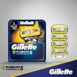 Лезвия Gillette Fusion ProGlide ProShield (4шт)