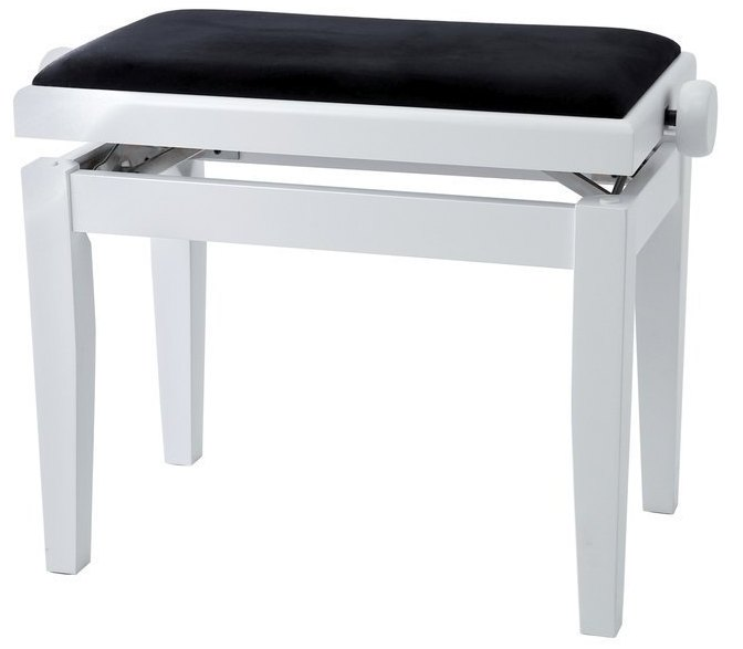 Банкетка GEWA Piano Bench Deluxe White Matt