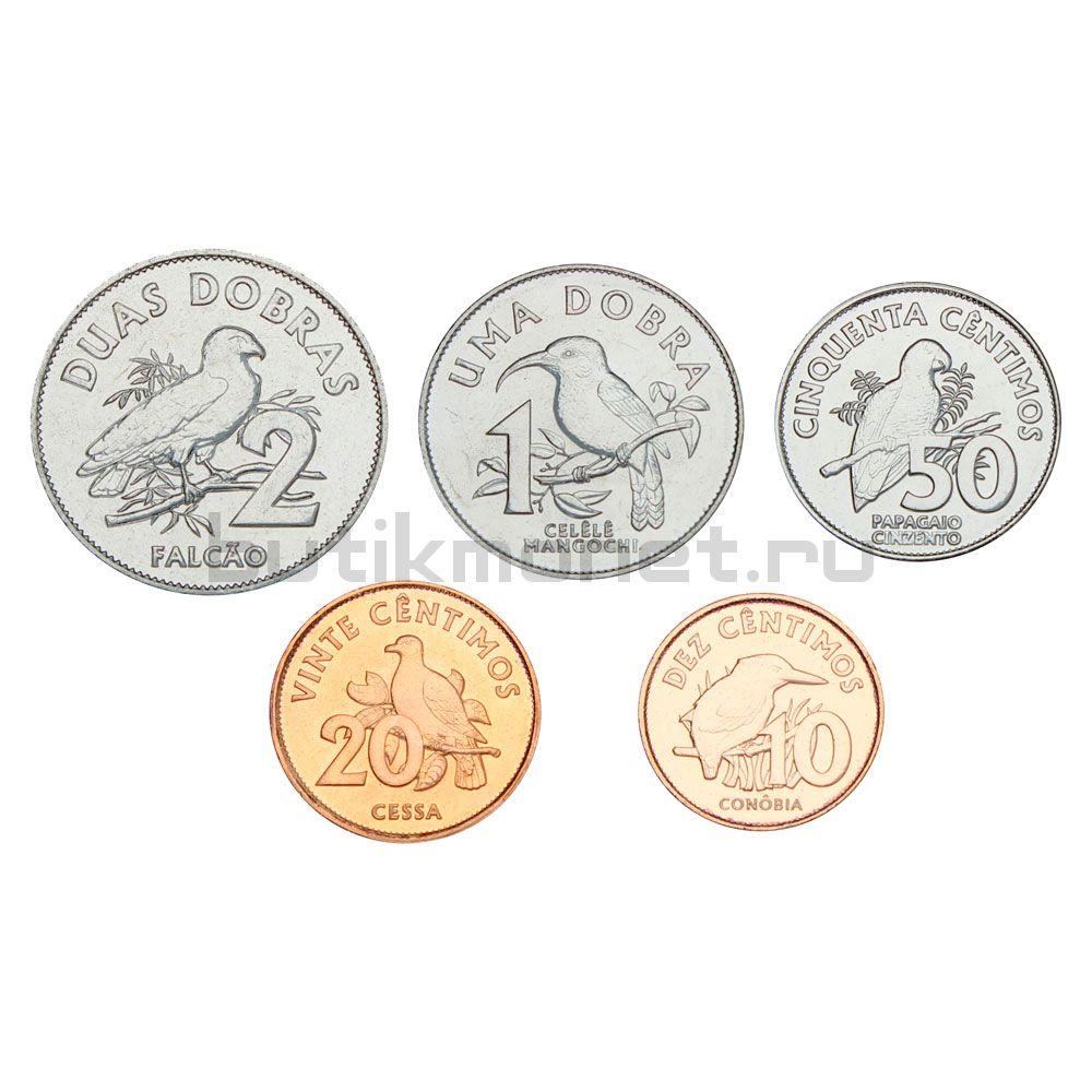 Годовой набор монет 2017 Сан-Томе и Принсипи (5 штук)