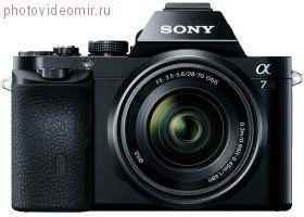 Фотоаппарат Sony Alpha ILCE-7 Kit FE 28-70 3.5-5.6 OSS (A7 kit)