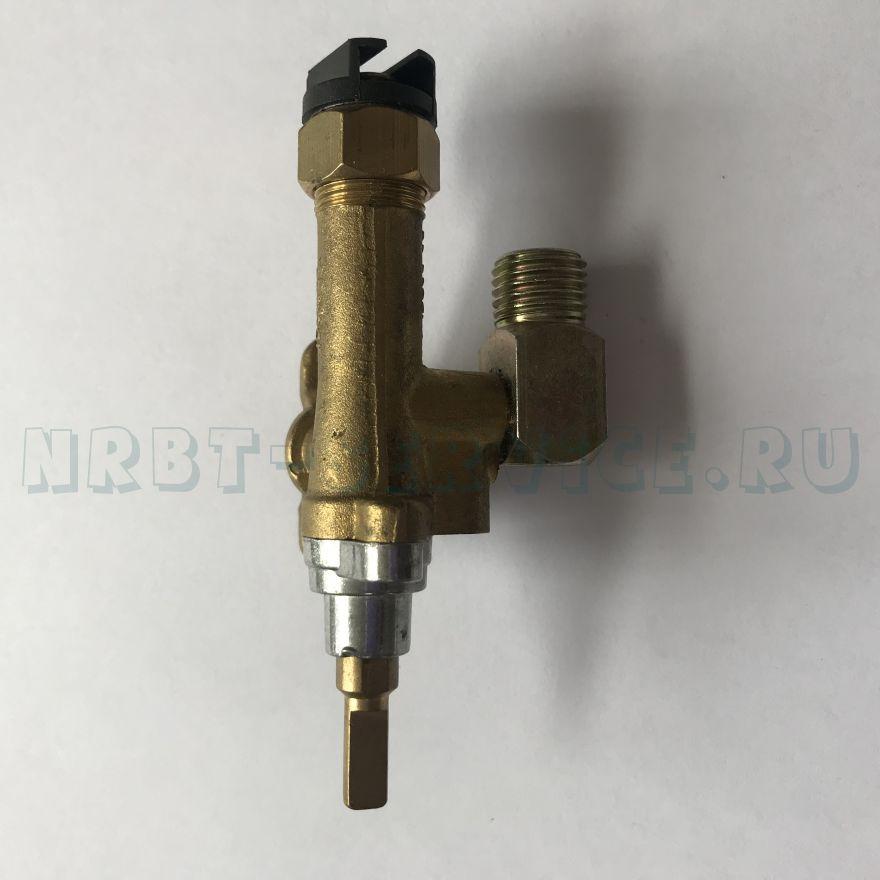 Кран газовый 501-16-R9 0,60 мм(черный)