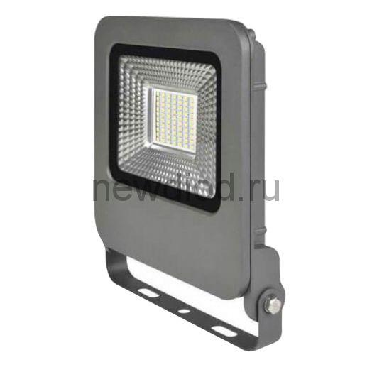 Прожектор светодиодный ULF-F17-30W/NW IP65 195-240B SILVER 4000K серебристый