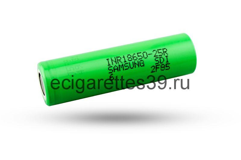 Аккумулятор Samsung 18650/25R, 2500 mah