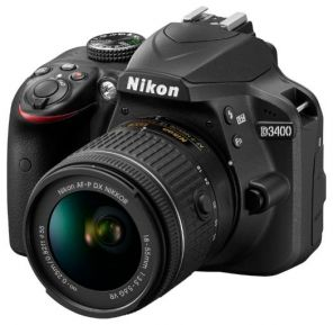 Nikon D3400 Kit AF-P 18-55 DX VR ll
