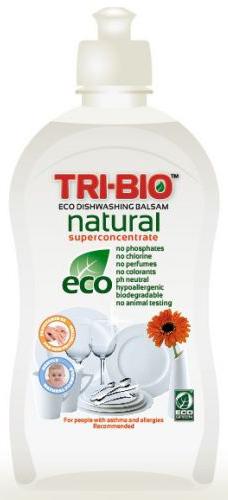 Tri-Bio Бальзам - натуральная эко-жидкость для мытья посуды 420 мл