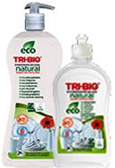 Tri-Bio Бальзам натуральная эко-жидкость для мытья посуды 840 мл