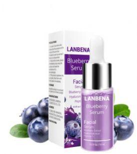Lanbena Blueberry Serum - увлажняющая и антивозрастная сыворотка для лица с черникой.(4333)