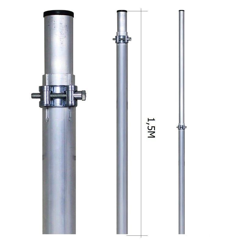 Мачта 7,5м Алюминиевая (МАТ 15-75)