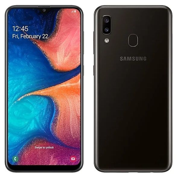 Samsung Galaxy A20 3/32GB (2019) Black (SM-A205FZKVSER)
