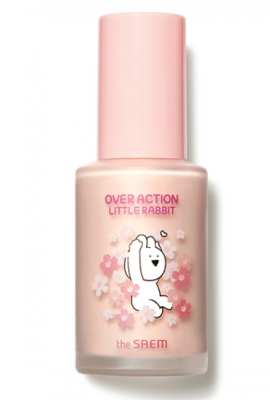 База под макияж The Saem (Over Action Little Rabbit)Eco Soul Peach Base 30мл