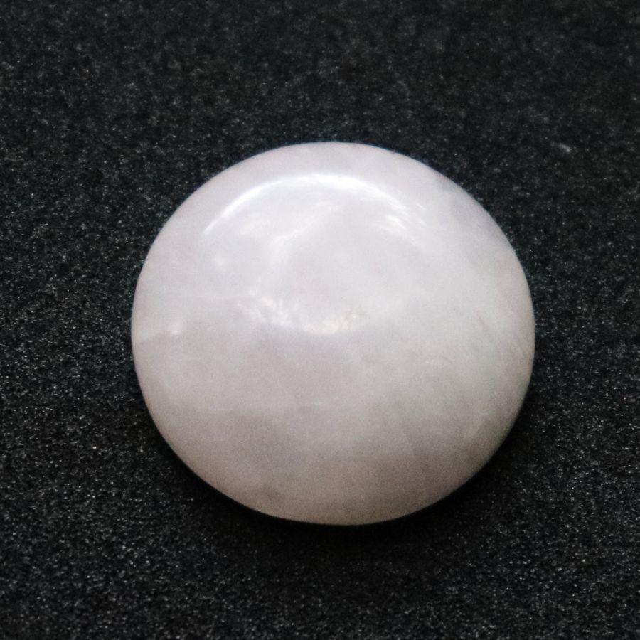 Кабошон, Розовый кварц натуральный, 20 мм, 1 шт/упак