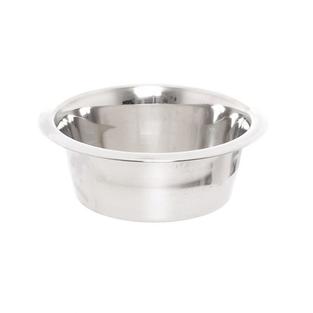 Миска PAPILLON Stainless steel dish из нержавеющей стали 13 см, 0,35 л