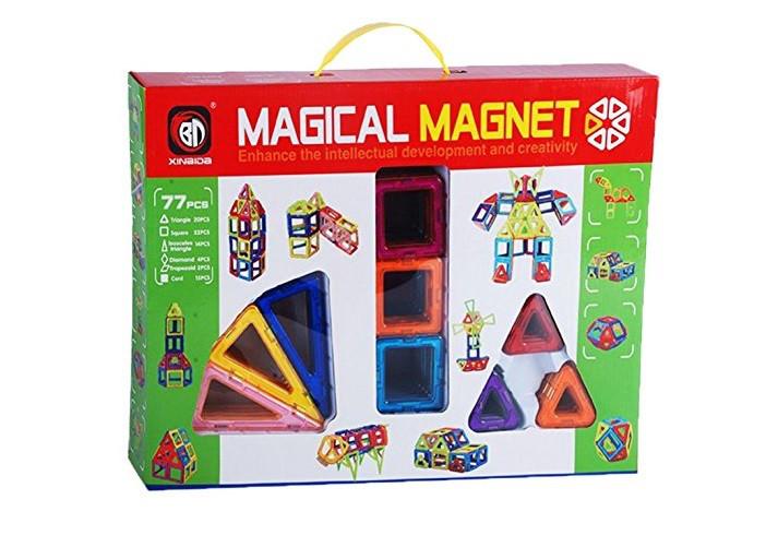 705 Магнитный конструктор Magical Magnet 77 деталей