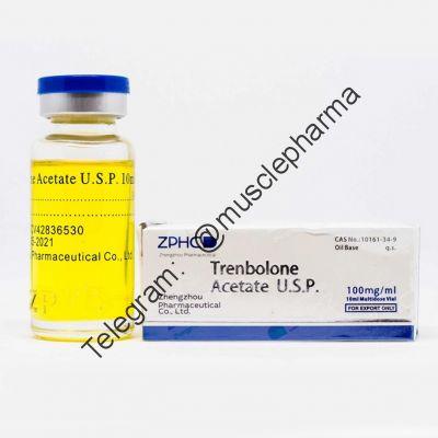 TRENBOLONE ACETATE (ZHPC). 1 флакон * 10 мл. (100 мг / мл)