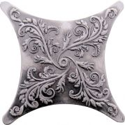 Estrella Plox Satined 1704 E1 Black Silver