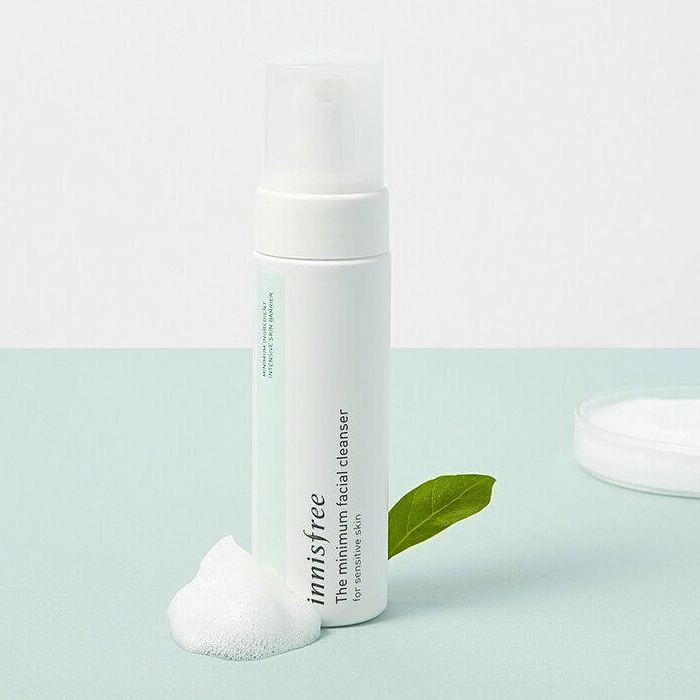 Гипоаллергенное очищающее средство для чувствительной кожи Innisfree The Minimum Facial Cleanser