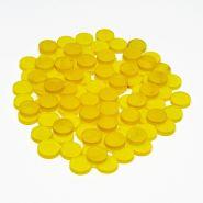 Набор желтых матовых фишек