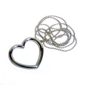 """Фокус """"Кольцо и цепочка"""" - сердце"""