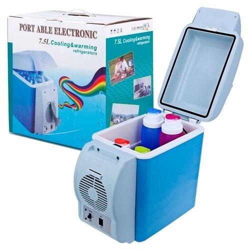 Миниатюрный холодильник/нагреватель для автомобиля Portable Electronic Cooling and Warming Refrigerator, 7.5L