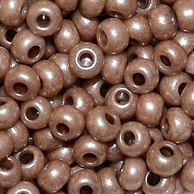 Бисер чешский 46318 непрозрачный коричневый Preciosa 1 сорт