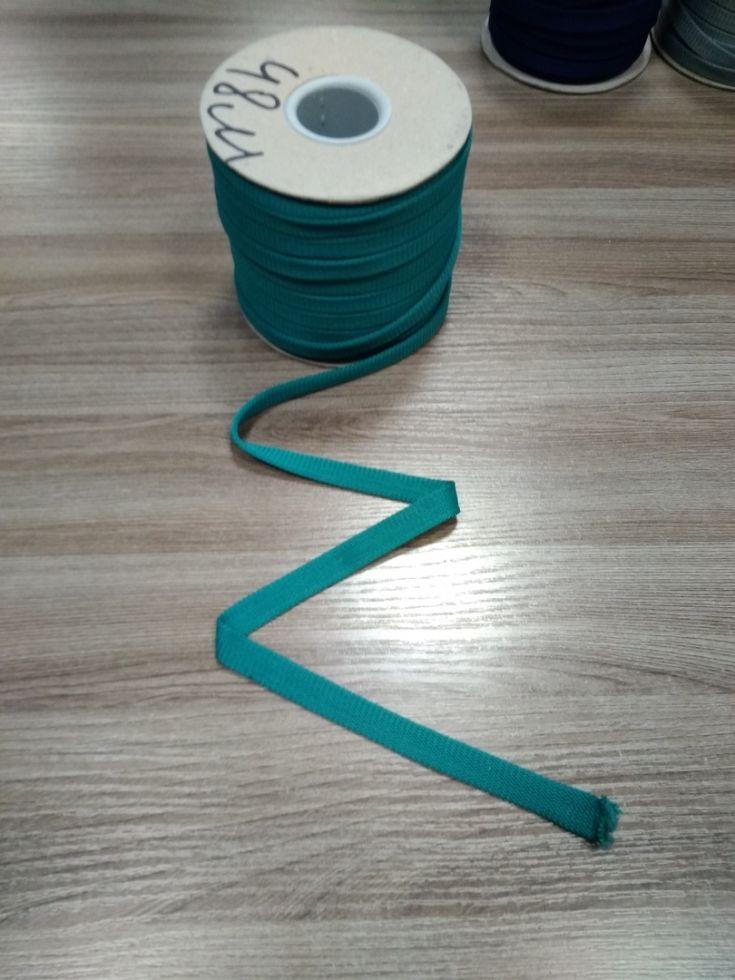 ТЕМНЫЙ МЕНТОЛ Шнур плоский шир. 12 мм