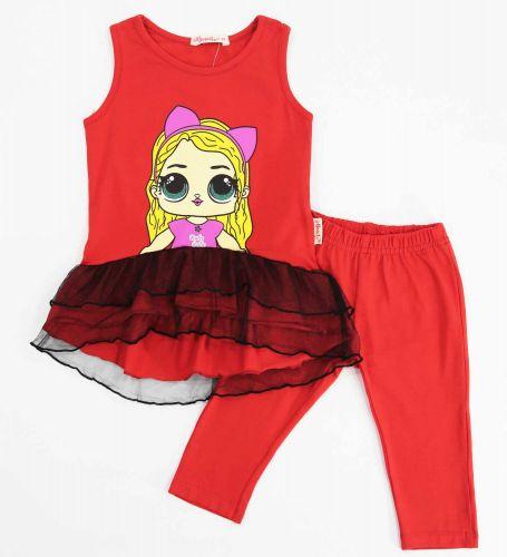 Костюм для девочек 2-5 лет Bonito BK1191KP красный