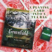 """Карточный трюк """"Игральная карта в чайный пакетик"""" Turn a Playing card into a Tea Bag by Gimmick STUDIOS"""