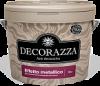 Краска-Металлик Decorazza Effetto Metallico 0.3л Bianco (Белый) / Декоразза Эффетто Металлико