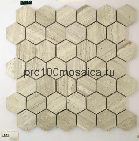 KA71. Мозаика серия Камень чип 55*48, размер, мм: 305*300*6 (Happy Mosaic)