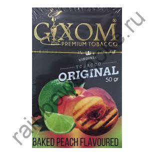 Gixom Original series 50 гр - Baked Peach (Запеченный Персик)