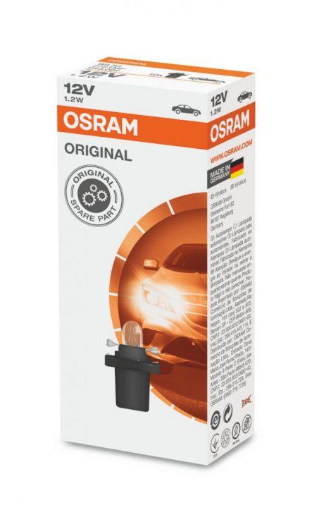 Лампа 12V  1,2W  2721MF OSRAM