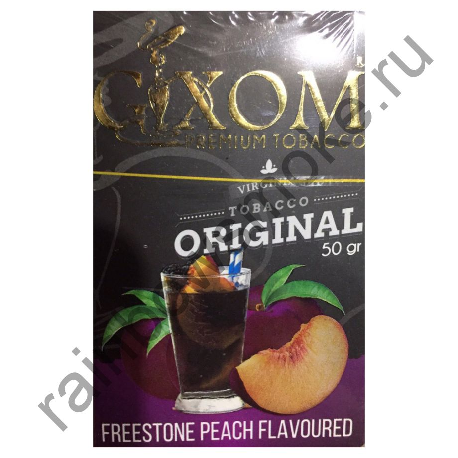 Gixom Original series 50 гр - Freestone Peach (Фристоун Пич)