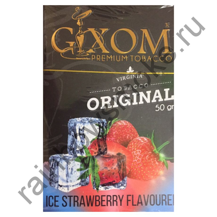 Gixom Original series 50 гр - Ice Strawberry (Лед и Клубника)