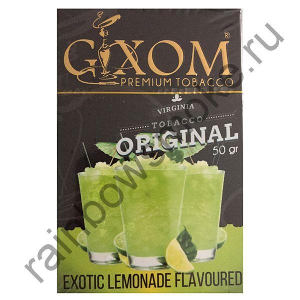 Gixom Original series 50 гр - Exotic Lemonade (Экзотический Лимонад)