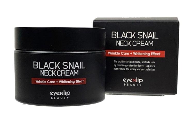 Крем для шеи антивозрастной EYENLIP BLACK SNAIL NECK CREAM 50ml