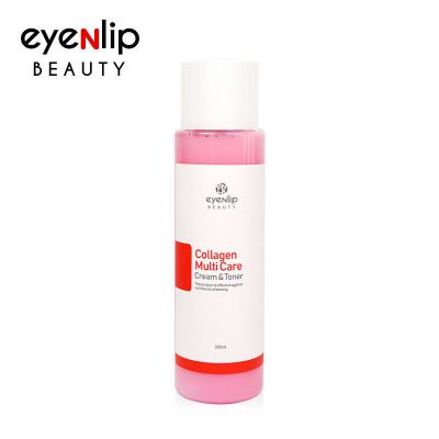 Тонер-крем с коллагеном 2 в1 EYENLIP COLLAGEN MULTI CARE CREAM & TONER 200ml 200мл