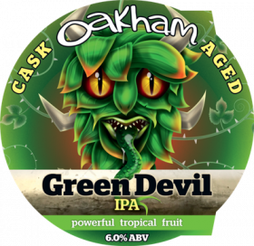 GREEN DEVIL IPA КЕГА 30 Л (ЦЕНА ЗА ЛИТР)