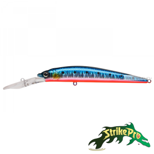 Воблер Strike Pro Alpha Diver JL-062F 110 мм / 13 гр / Заглубление: 2,5 - 4 м / цвет: A234-SBO-LU