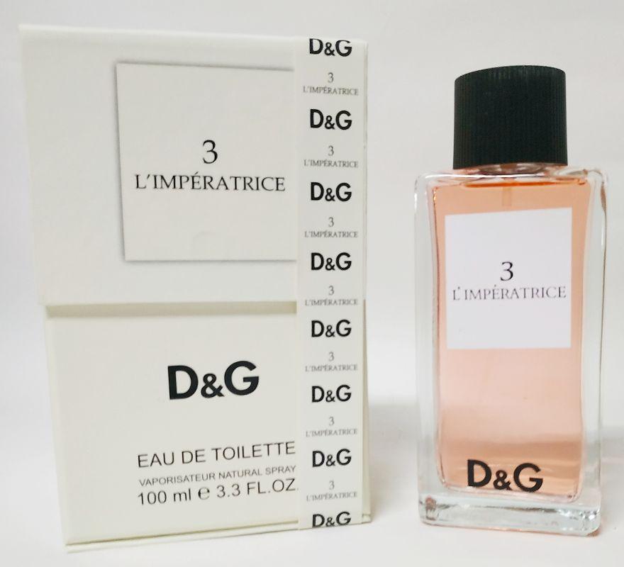 D&G Anthology 3 L'IMPERATRICE 100 ml - подарочная упаковка