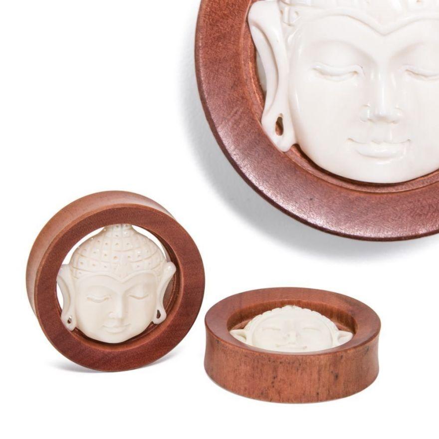 Плаги Buddha Presence Saba Wood