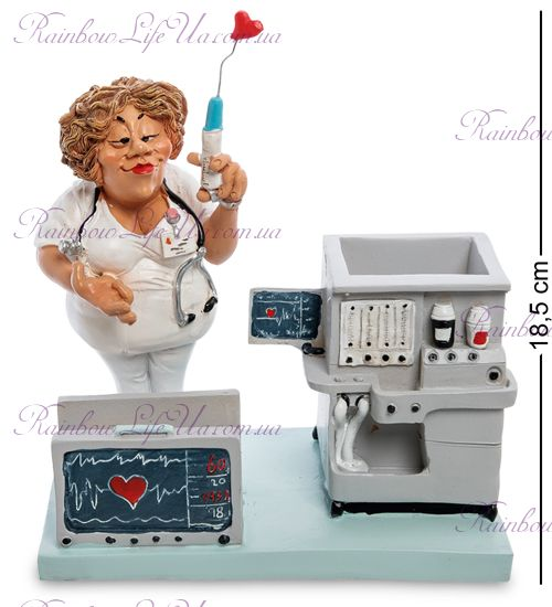 "Подставка для ручек и визиток медсестра ""W.Stratford"""