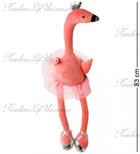 "Игрушка мягкая ""Фламинго балерина"""