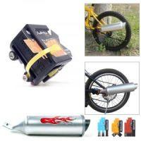 Пластиковая турбина на велосипед (2)