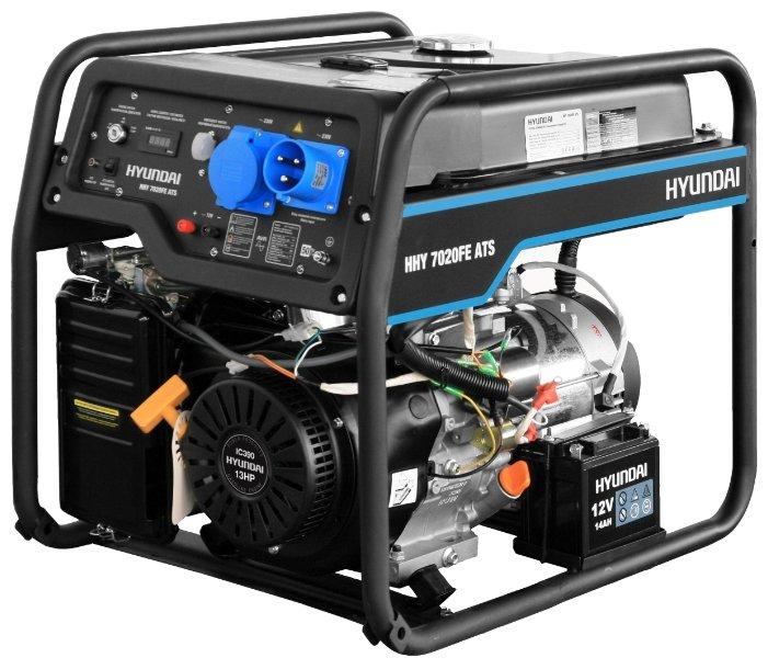 Бензиновая электростанция Hyundai HHY 7020FE ATS