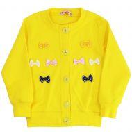Кардиган для девочек 3-6 лет Bonito желтый