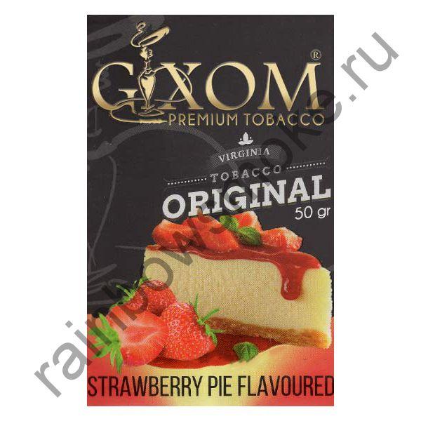 Gixom Original series 50 гр - Strawberry Pie (Клубничный Пирог)