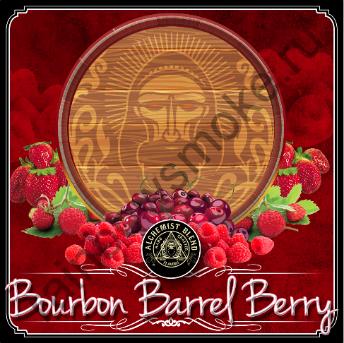 Alchemist Original Formula 350 гр - Bourbon Barrel Berry (Бочонок Ягодного Бурбона)