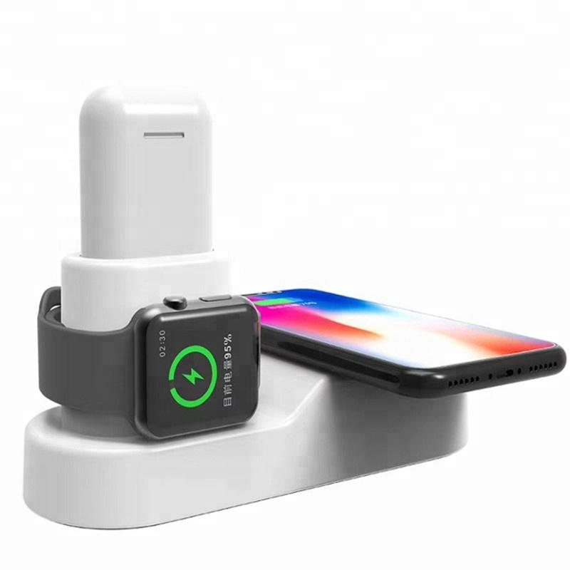 Зарядная станция 4 в 1 для Apple Watch/AirPods/iPhone/iPad универсальная 36W
